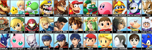 Super Smash Bros 4 4chan Leak Roster Prediction by Lucas-Zero