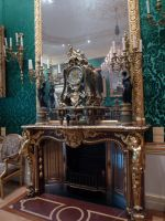 Wallace Collection baroque fireplace stock by photodash