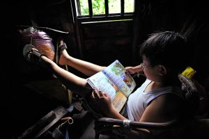 CHILDHOOD INNOCENCE - 2 by SAMLIM