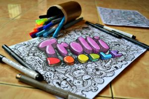 3D Trolli Doodle by Mbacinillo