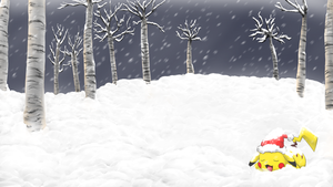 Pikachu Santa Wallpaper v2 .:Collab:. by V1ciouzMizzAzn