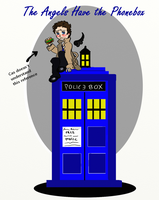 The Supernatural Angels Have the Phonebox by enginesummer