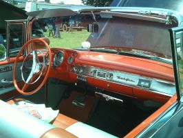 '57 Chevy Bel Air -Interior- by Jeraxan