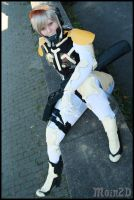 MGS4 Raiden Cosplay Time of Silence by Moin2D
