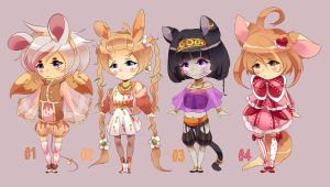 Mini Adoptable Set [open] by icurunin
