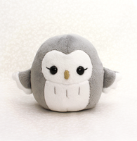 Pygmy Owl Plushie by TeacupLion