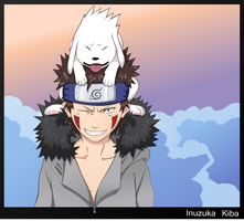 Inuzuka Kiba by Ironcid