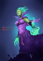 Krobelus - Death Prophet from DotA 2 by VirtualMan209