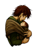 Daddy Hiccup by Mikki05 by Kitten410