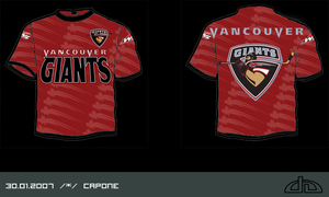 Vancouver Giants T-Shirt by caponehun