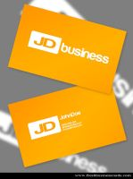 Yellow Business Cards by Freshbusinesscards