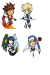 Guilty Gear Stickers by Dubslider