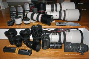 Today's lens lineup by malice4you