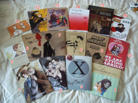 CWT28 fanbooks by KD666