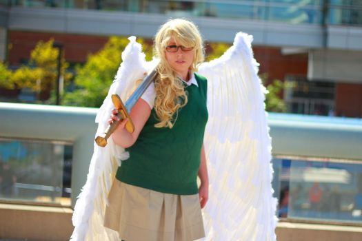 Otakon 2013 - Aziraphale(PS) 16 by VideoGameStupid