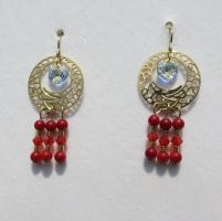 Chinese Dragon Earrings by 2ndWindAccessories