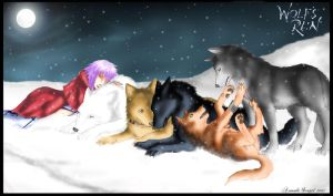 Wolf's Rain by Amand4