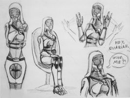 sketches Tali (110) by spaceMAXmarine