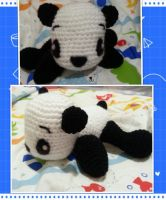 Baby Panda by Crochettie
