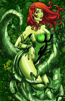 Ivy Poison By Lcfreitas-coloredfinal and Elijah by thecrow1299