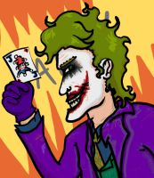 The Joker: Heath's Animated by Scottendo