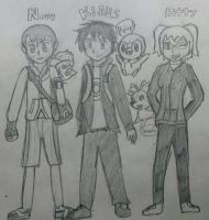 Pokemon Team He by AngelOfInflation