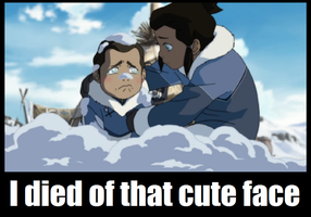 I died of that face by makorra200
