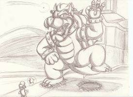 Return of Giant Bowser by Bowserwiththefire