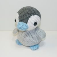 Emperor Penguin by Heartstringcrochet