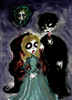 The Vampire, the Ghost and the Witch. by salvi-burton