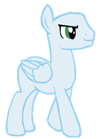 Pegasus Colt -Base- by therealspottedpaw