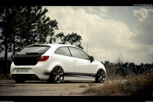 Seat Ibiza white angel by hesoyam25