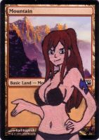 Mountain Alter Art Erza Scarlet (Fairy Tail) by Abystoma