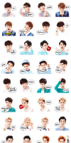 Line Sticker (Collect) by FizHamsel