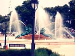 Fountain of the Three Rivers by blauhund