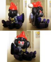 Christmas Skywarp Ornament by PsychoticUndertone