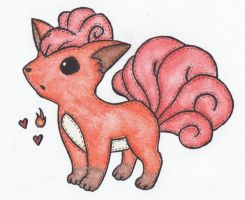 Vulpix Stitched by sophiemai