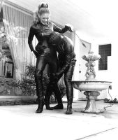 mistress antoinette in latex and slave by kevinw59