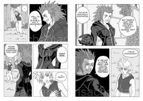 KH2 doujinshi sample 9 by pencafe