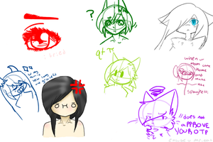 dOODLE TIME AWH YISS by achimin