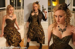 Steampunk by CastleCorsetry