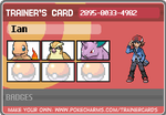 Pokemon Region Chronicles: Ian's Kanto Card 1 by AvalarGuardian