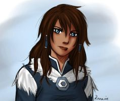 Korra.smile by Renavie