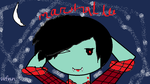 Marshall lee the vampire king by warriorfann