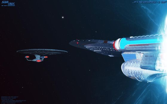 It's the Enterprise-C, Sir by Joran-Belar
