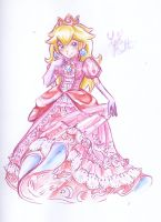 Princess Peach by Lemia