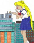 Usagi Turns the Tables by MasterOfRa