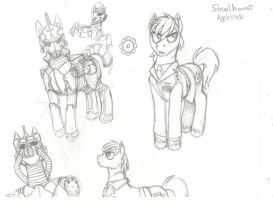 Steelhooves Practice by shrivak