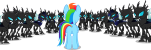 They should have brought more changelings by Vector-Brony