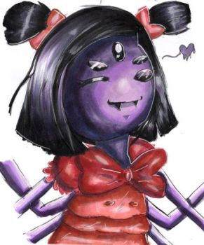 Undertale - Muffet by Moonlight-Munna
